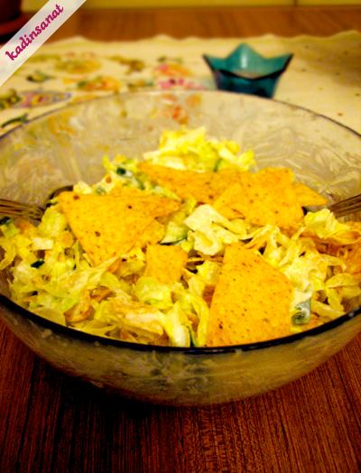 Doritos Çantada Kekikli Salatamız :)