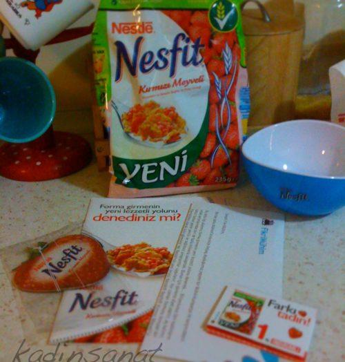Nestle Nesfit Kırmızı Meyveliye Bayıldım!