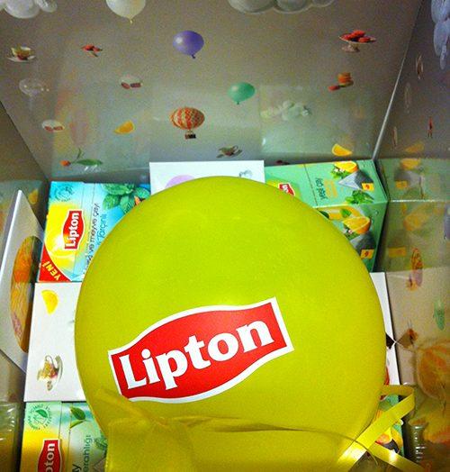 Lipton'un hoş süprizi ve bitki çayı sevgim