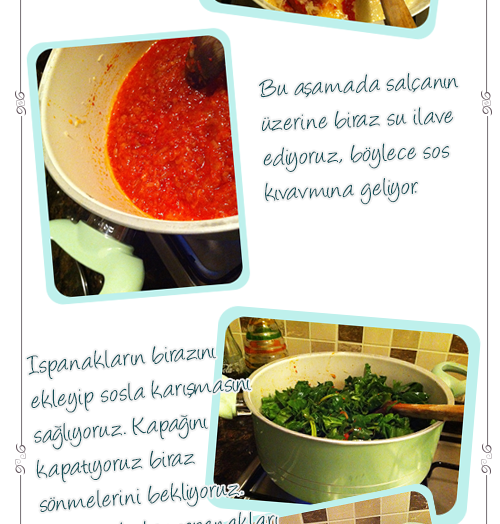Zeytinyağlı Ispanak Yemeği (Fotoğraflı Anlatımlı)