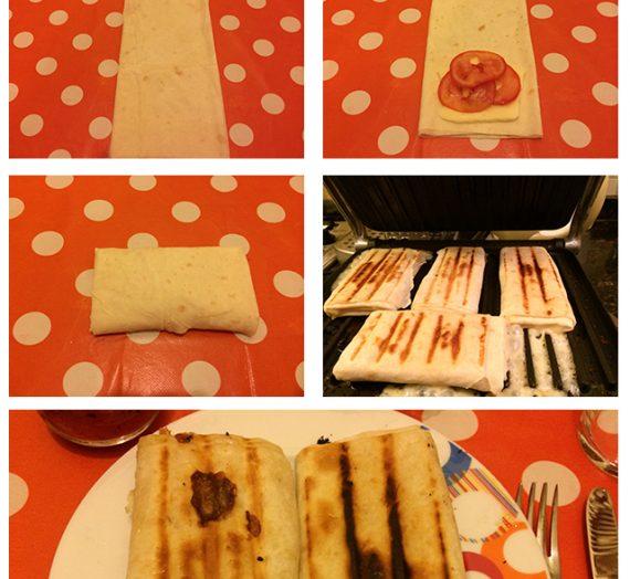 Pratik bir sahur yemeği: Börek Tost