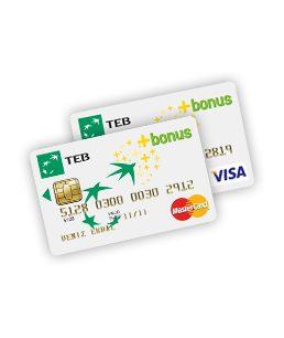 Kredi kartı kullanacaksanız TEB Bonus Card