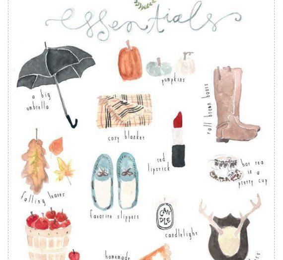 Hoşgeldin Sonbahar, Çizme, Şemsiye ve Çorap :)