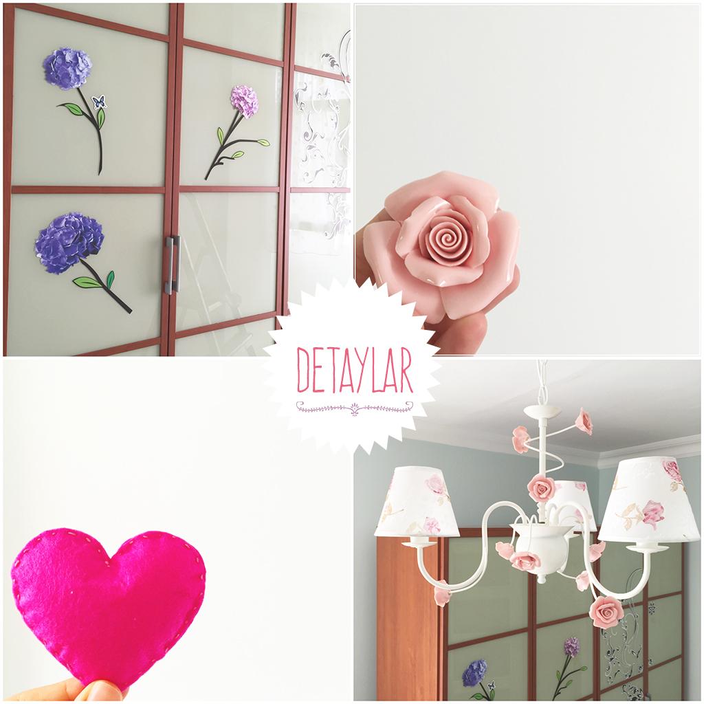 yatak odası dekorasyon detaylar