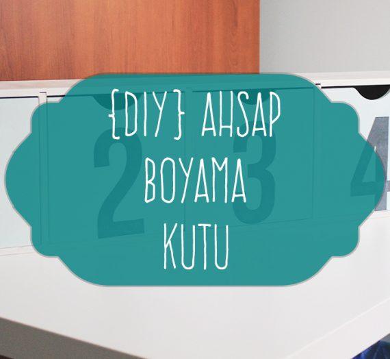 {DIY} Ahşap Kutu Boyama