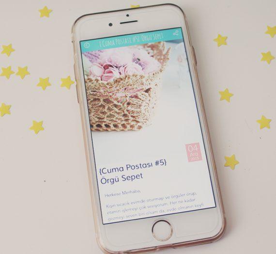Kadınsanat İphone Uygulaması Yayında!