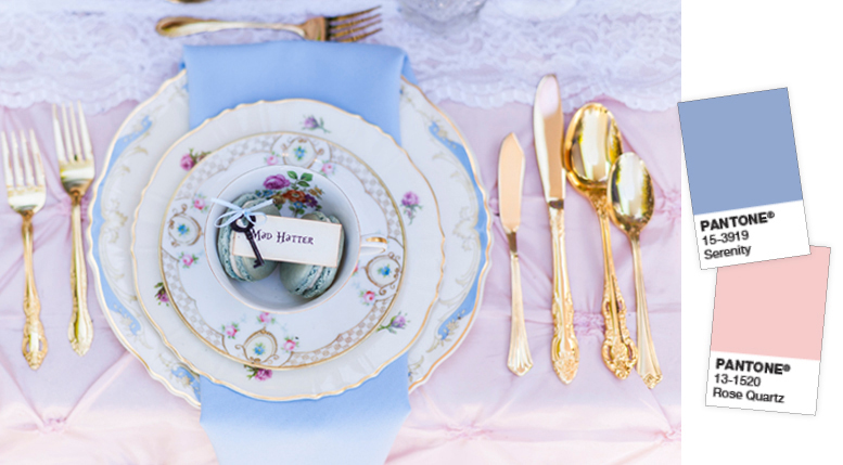 pantone yılın rengi rose quartz & serenity