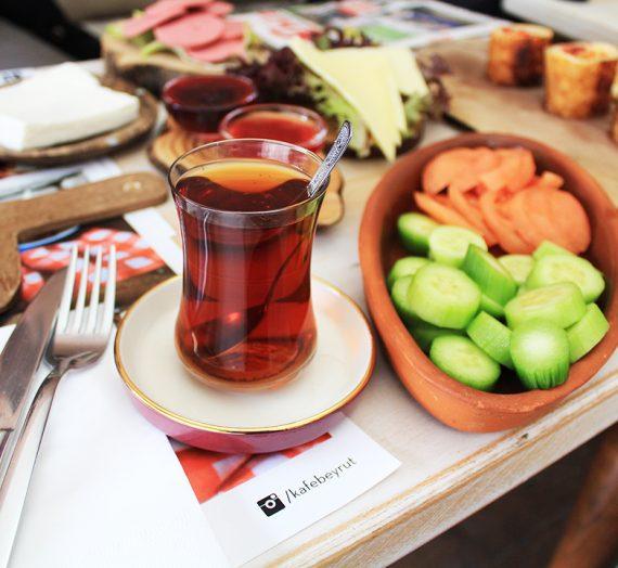 Beyrut Kafe'de Kahvaltı