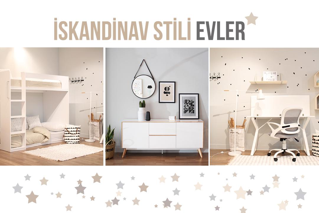 iskandinav stili evler