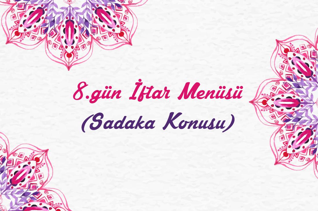 iftar menüsü 8