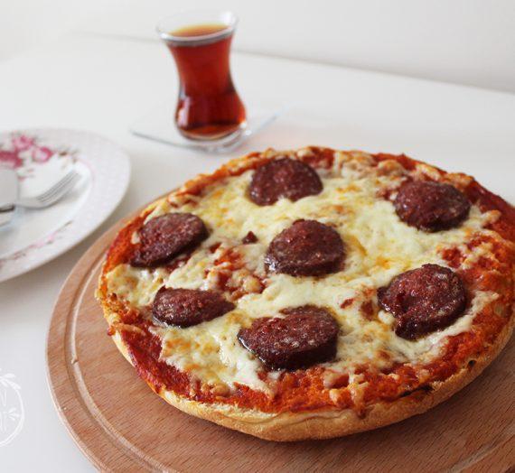 Bazlama Pizzası