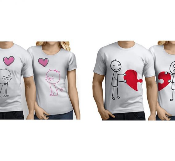 Sevgili Tişörtleri İçin Tasarım Fikirleri